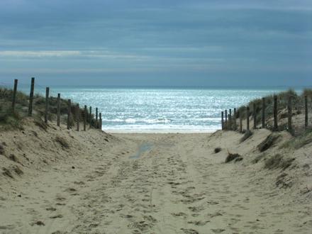La liberté à l'horizon - Plage de la davière, Vendée, Saint jean de monts