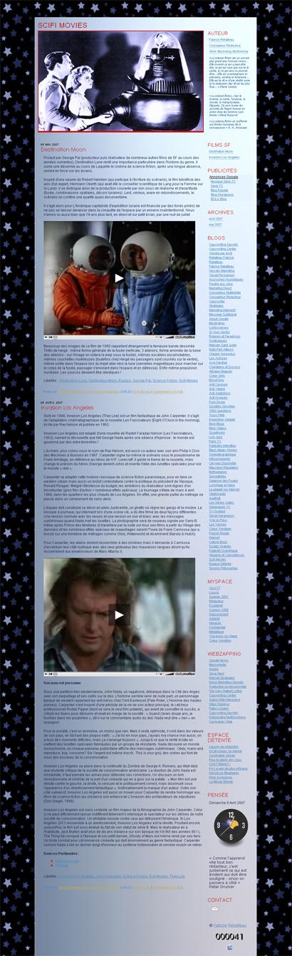 Films de Science Fiction