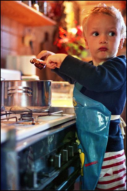 Kleptonaute pris la main dans la casserole de confiture